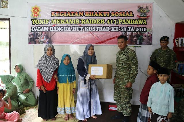 Dikunjungi Danyonif Mekanis Raider 411 Kostrad, Santri Blotongan Salatiga Doakan Prajurit TNI
