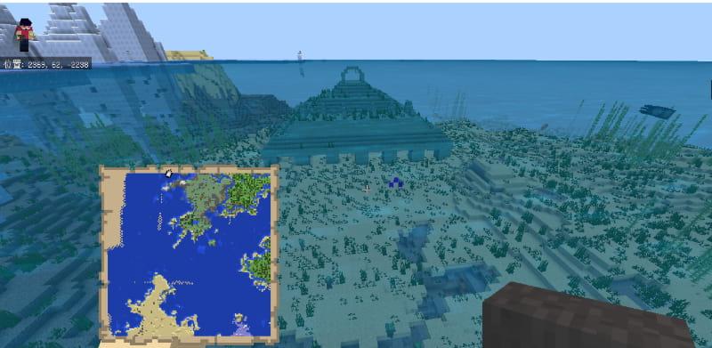 【舊Ver】神拠點!村、要塞、ネザー要塞、廃坑がスポーン地點に揃う神シード!ピラミッド、海底神殿も ...