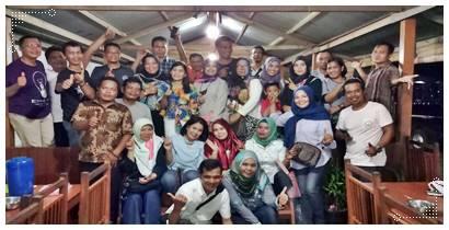 Jalin Silaturrahmi, Puluhan Alumni SMPN 5 Padang Angkatan 90 Hadir Di Bukber Ramadan 1439 H