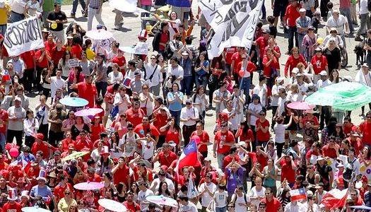 Marcha por Jesús en Chile