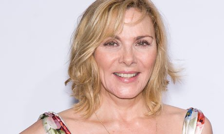Kim Cattrall was interviewed on ITV's Good Morning Britain today - and ...