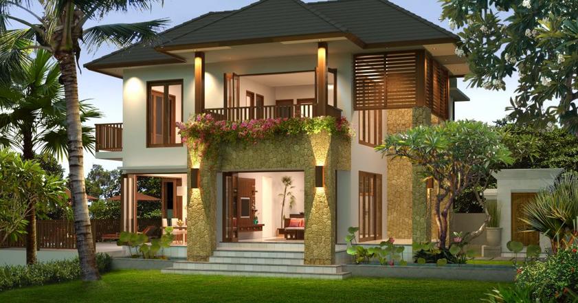 Gambar Rumah Modis Update Contoh Desain Rumah Villa Minimalis