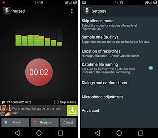 Rekam Suara Android Dengan Aplikasi Terbaik