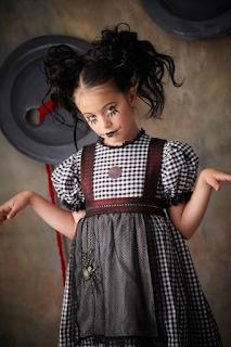 Déguisement poupée diabolique Halloween blog www.unjourmonprinceviendra26.com