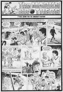 Kingsbay vs Spartadam UEFA Cup Final 1981