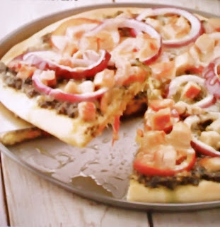 Gambar Resep Pizza Topping Pesto