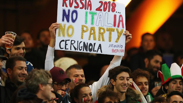 Italy Fans Charged Up For the Mega Event despite the Absence of Their Nation