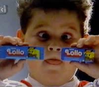 Campanha do chocolate Lollo em 1990 com uma interessante promoção.