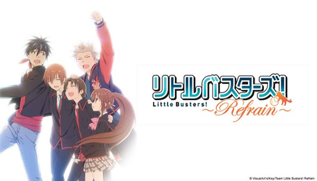 Download Little Busters Refrain BD Subtitle Indonesia [Batch]