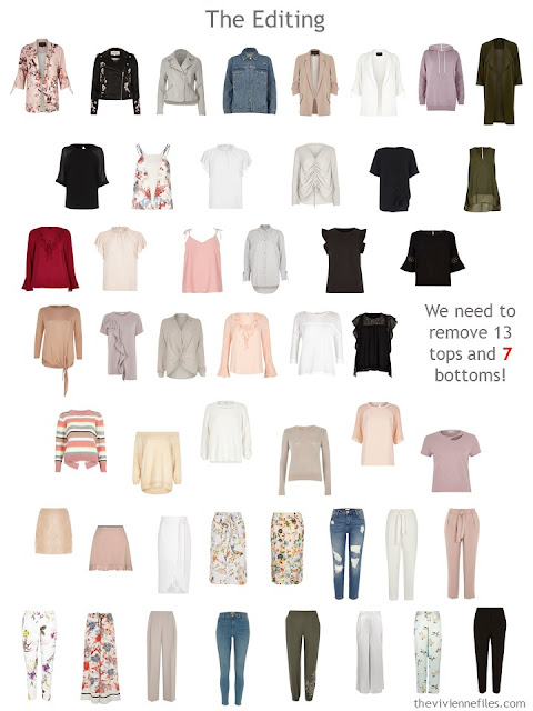 A plan for editing a 50-piece wardrobe