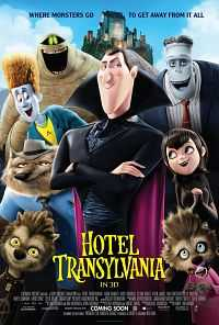 Hotel Transylvania (2012) 300MB Dual Audio Hindi BluRay 480p