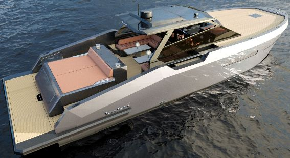 Poweryacht mag global informative motorboat page for How much does composite decking weigh