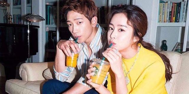 Pasangan Kim Tae Hee dan Rain Umumkan Kehamilan Anak Kedua