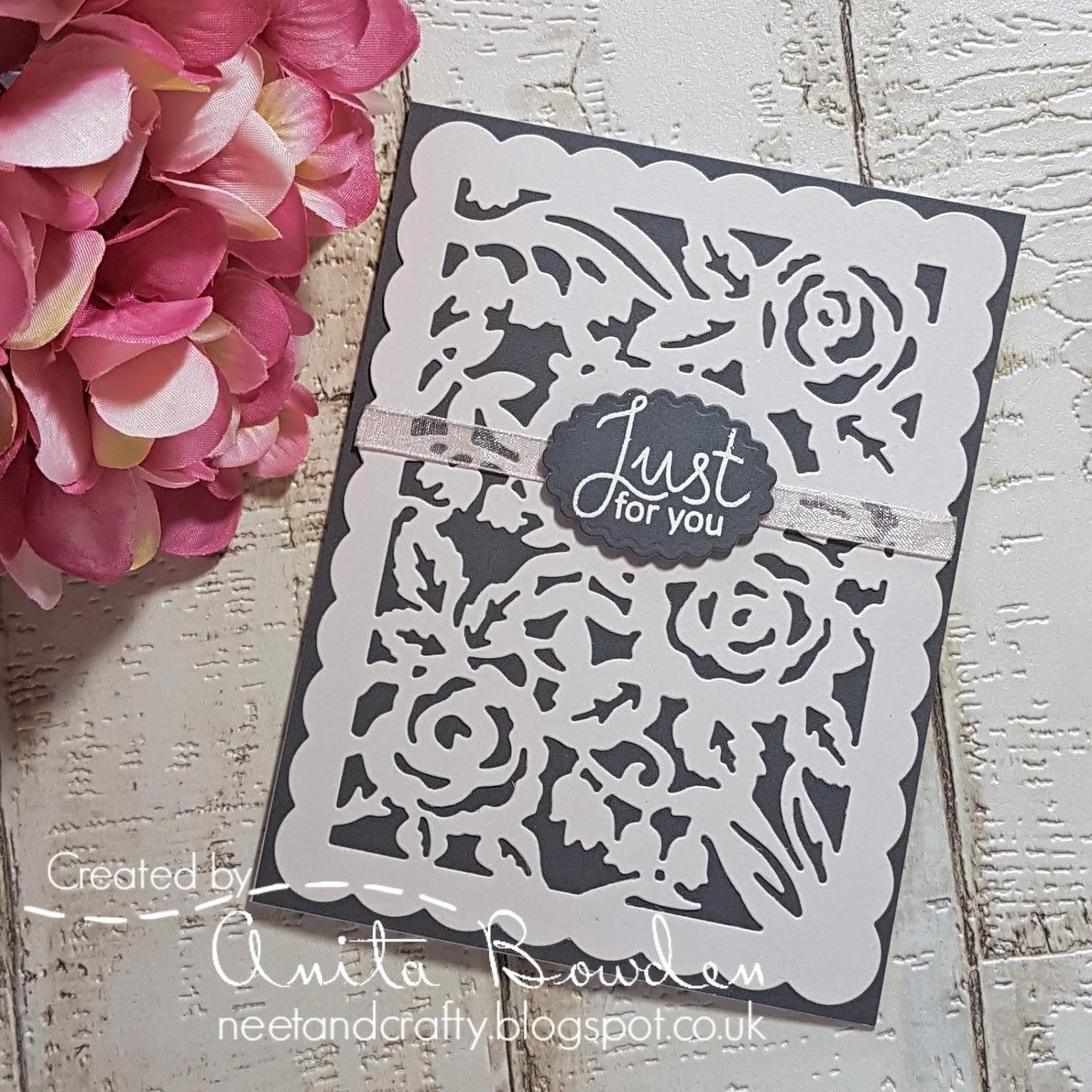 Neet & Crafty: Spellbinders - Designer Series: Flower Garden