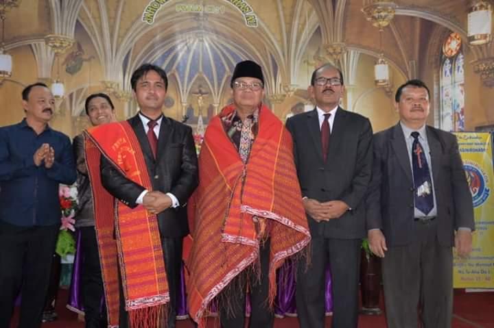 Sambangi Jemaat HKBP, Gubernur Jambi Himbau Masyarakat Jaga Kerukunan