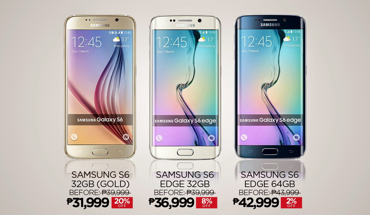 Samsung Galaxy S6 now at Lazada