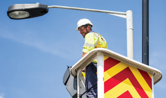Peterborough's street lights are being upgraded to LED