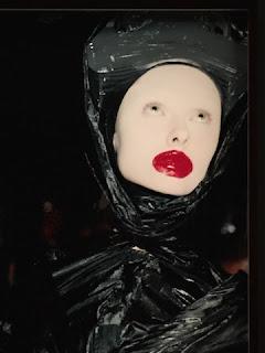Alexander McQueen's Horn of Plenty Fashion Show - photo by Nick Waplington
