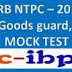 RRB NTPC(ASM,Goods Guard,TA,CA) EXAM-2016: Mock Test -1
