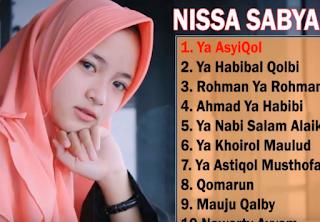 Album Nonstop Nissa Sabyan Mp3 Terbaru 2018 Lengkap, Nissa Sabyan, Lagu Sahalawat Nissa Sabyan. Lagu Nissa sabyan, Lagu Religi,Nissa Sabyan, Album Religi, Album Nonstop Mp3,