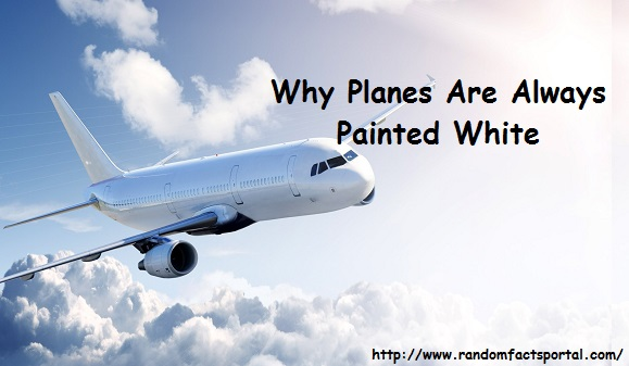 Why Planes Are Always Painted White
