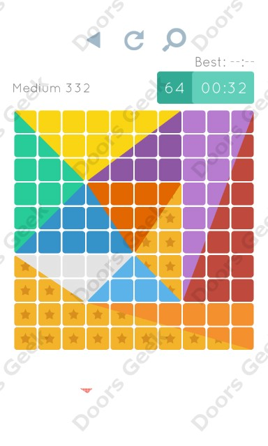 Cheats, Walkthrough for Blocks and Shapes Medium Level 332