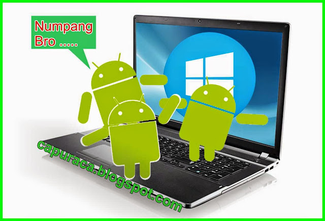 Emulator Android terbaik, android on laptop