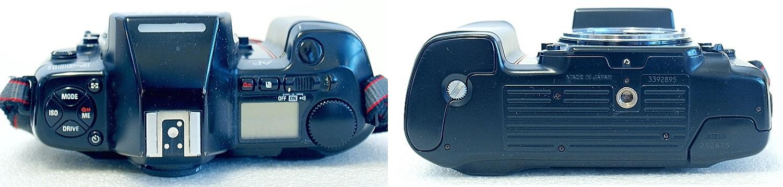 Nikon F801s with MF-21 Back #895-3