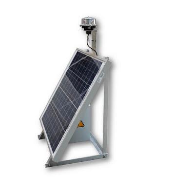 Luxsolar güneş enerjili uçak ikaz lambası sistemi