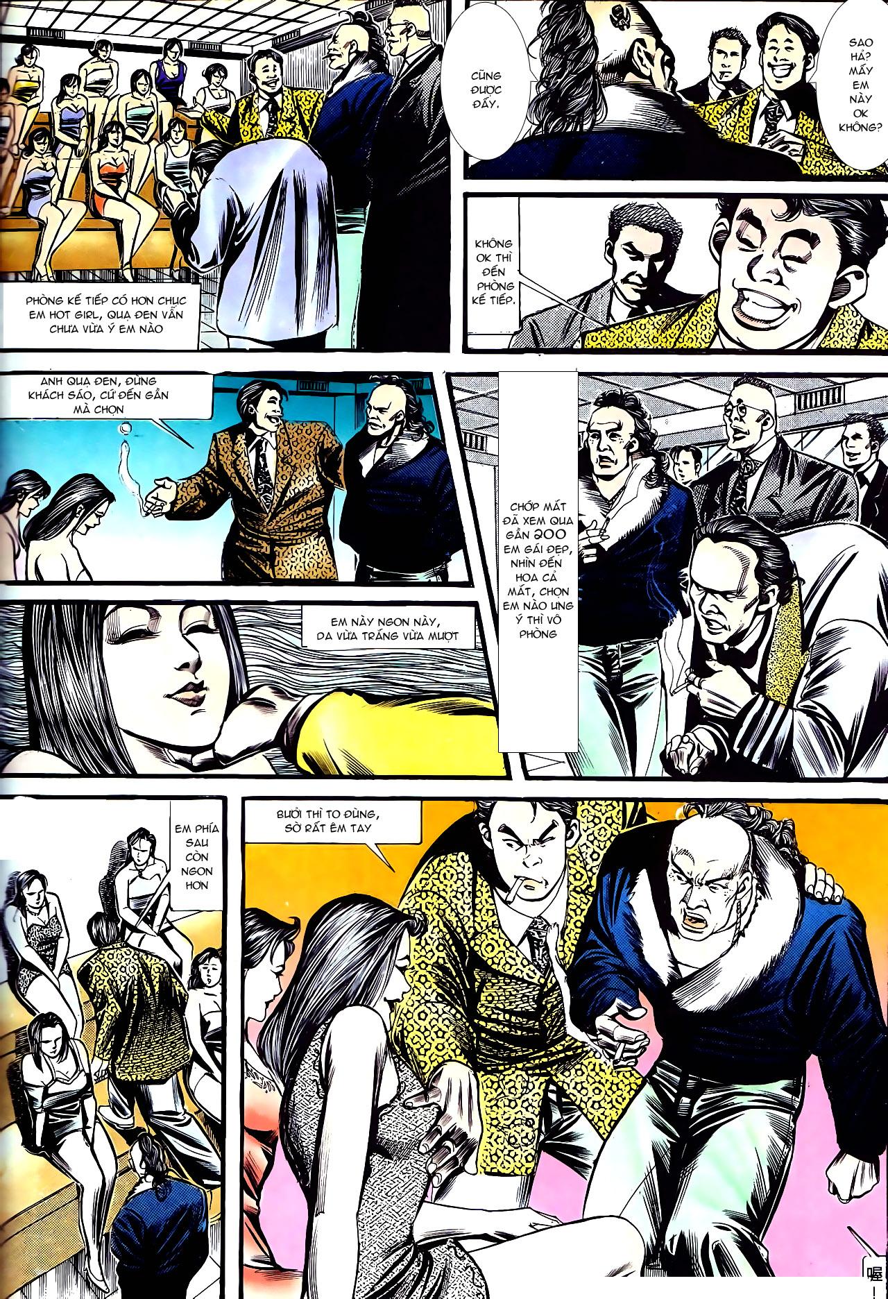 Người Trong Giang Hồ chapter 157: thiên đường địa ngục trang 20