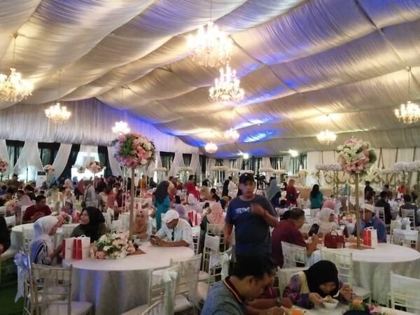 Majlis kahwin Siti Jamumall