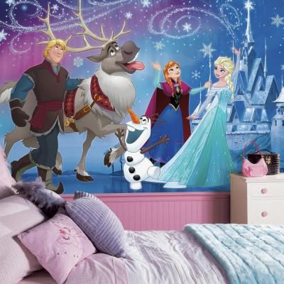 Tapetti Lastenhuoneeseen Disney Frozen