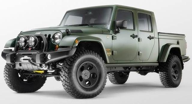 2018 Jeep Wrangler Pickup specs