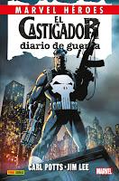 Marvel Héroes 81. El castigador: Diario de guerra