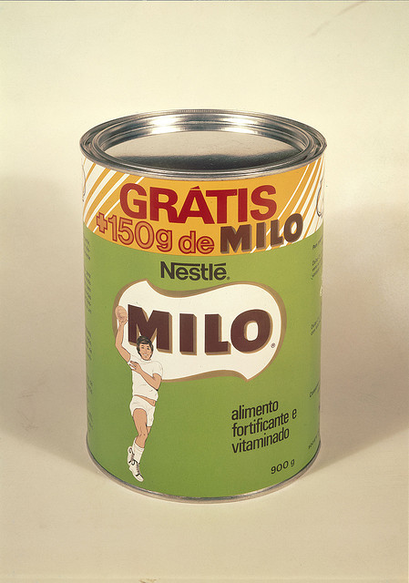 ... do chocolate em pó Milo