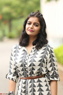 Swathi Reddy Looks super cute at London Babulu theatrical trailer launch ~  Exclusive 019.JPG