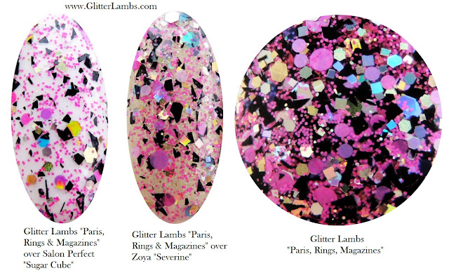 Indie Custom Handmade Nail Glitter Lacquer Nails Nail Art Nail Designs Hollywood Celebrity
