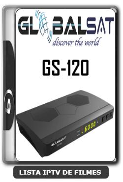 Globalsat GS120 Nova Atualização Melhorias no Sistema V2.52 - 23-01-2020