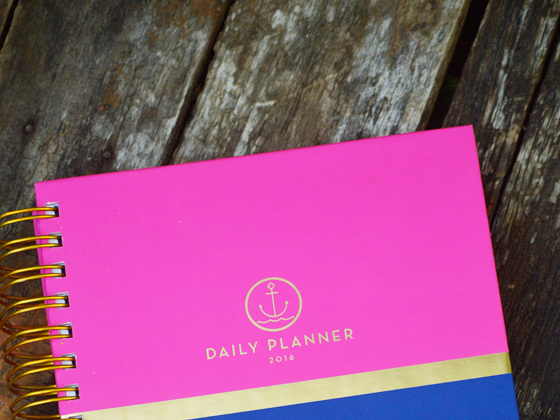 Anchored in God {An Anchored Press Planner Review & Giveaway} #AnchoredInGod