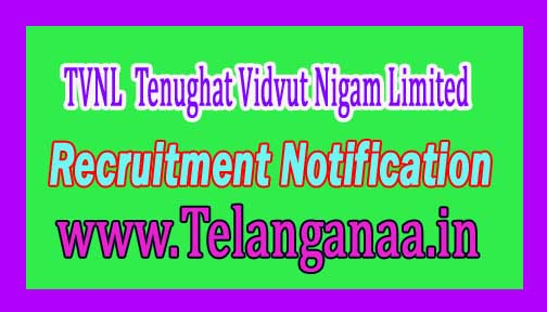 TVNL (Tenughat Vidvut Nigam Limited) Recruitment Notification 2016