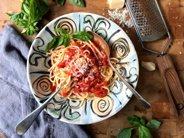 Marcella Hazan's Buttery Tomato Sauce Recipe from Mom