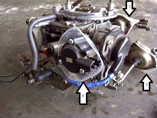 Sistem Carburator pada Accord Maestro 1990-1991