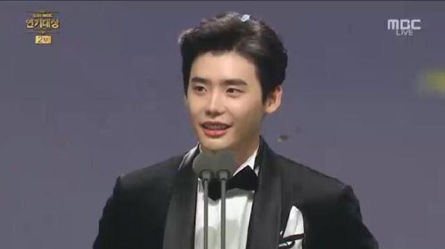 mbc-大賞:李鍾碩《W-兩個世界》