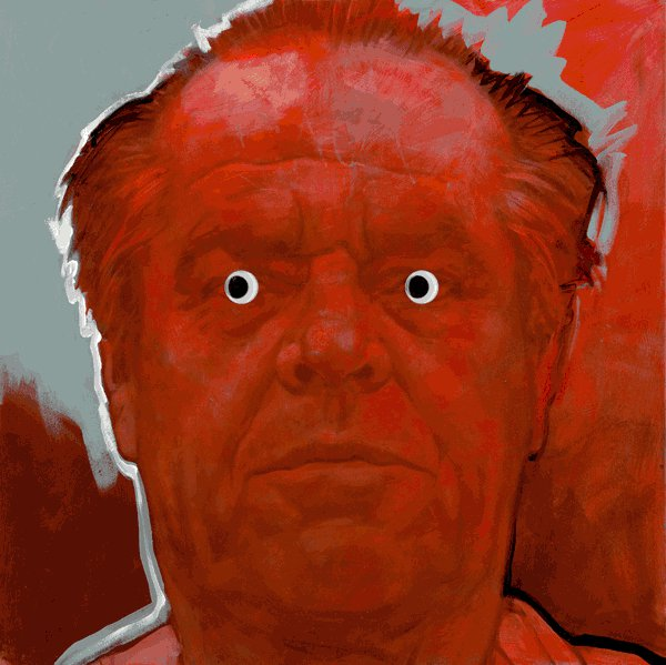 Jack Nicholson - Realismo Pop Nuevo - Sebastian Krüger 1963