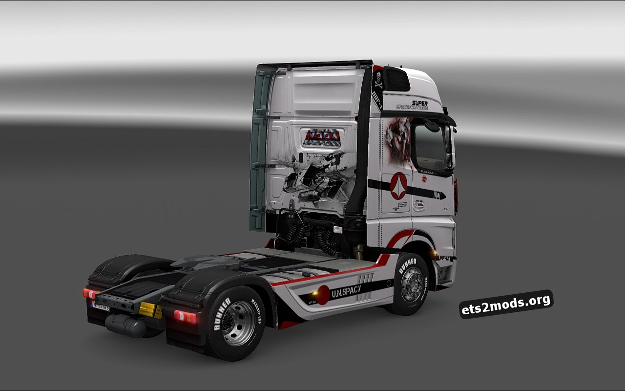 Macross Skin for Mercedes MP4