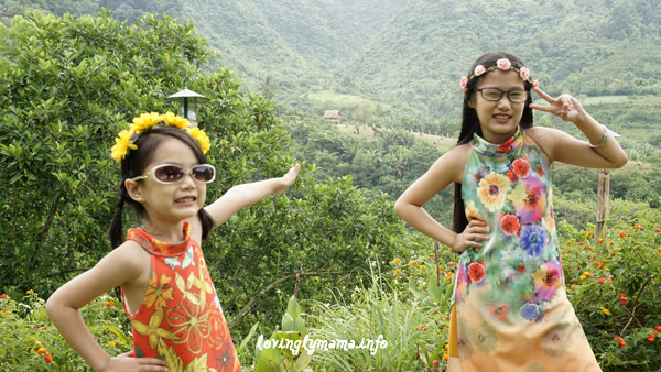 flower child - Lantawan View Silay - sisters