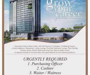 Gammara Hotel Membuka Lowongan Kerja