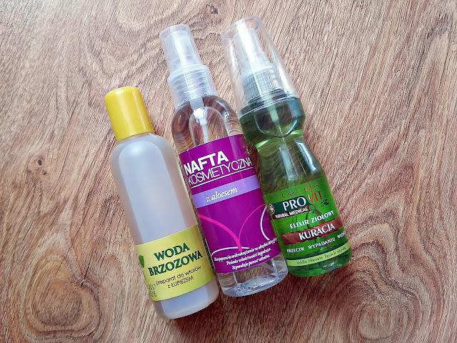 haul kosmetyczny, Wizaż24, wcierki do włosów, woda brzozowa
