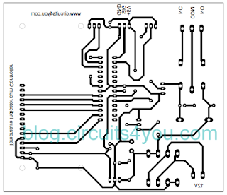 GSM based fire alert system PCB layout