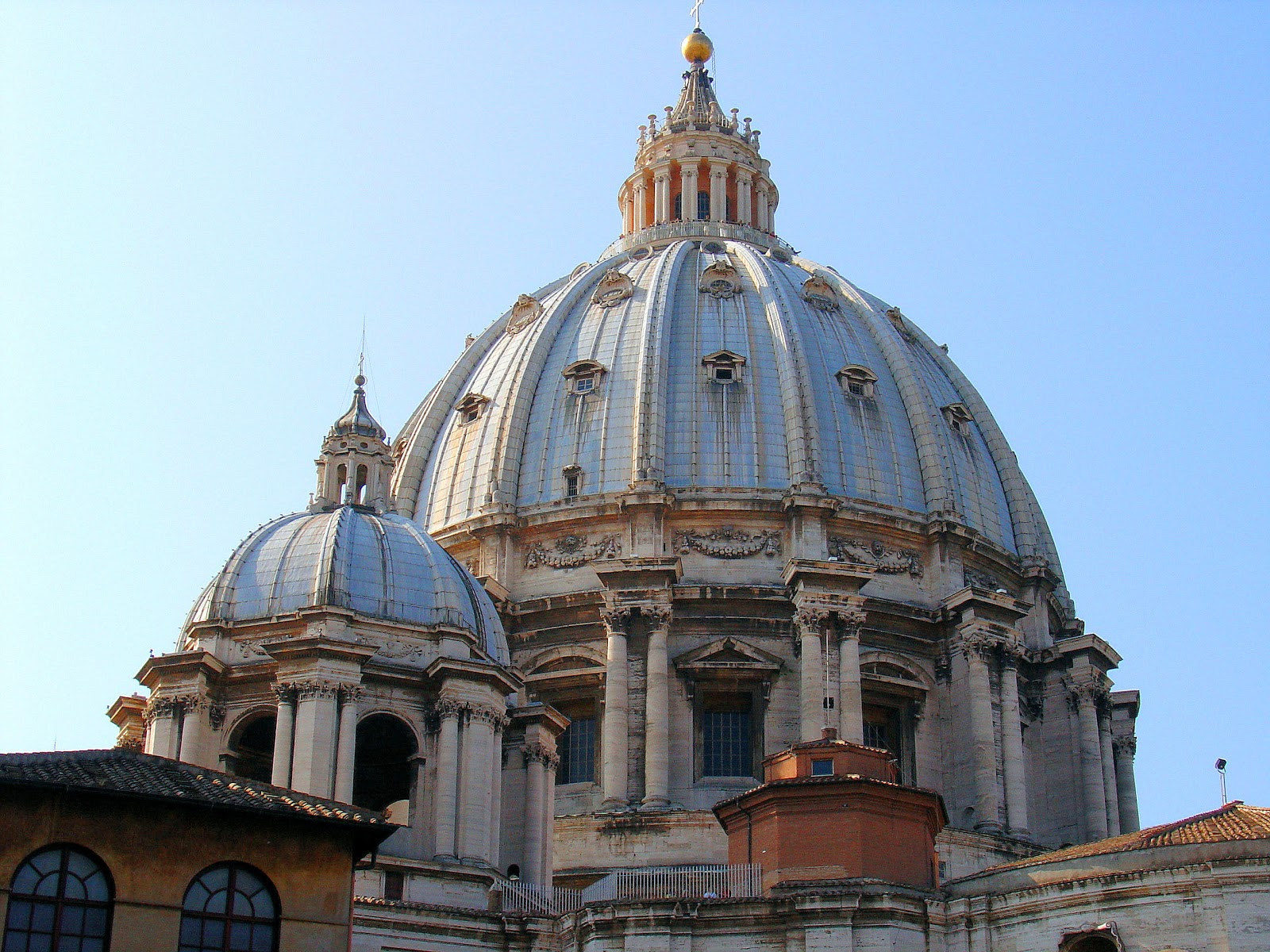 Michelangelo's Cupola at Saint Peter's Basilica in Rome.